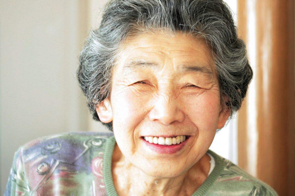 Hさん笑顔の写真